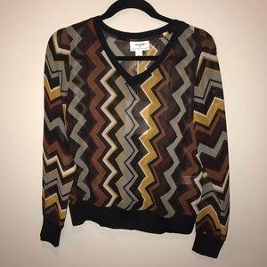 Missoni for Target Sheer Geometric Pattern Sweater